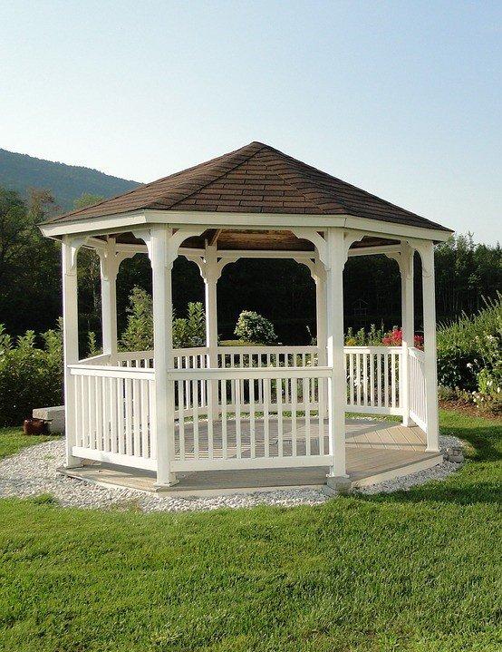 nowoczesna altanka ogrodowa